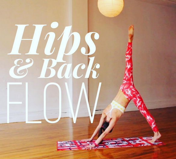 My Daily Practice II Hips & Back